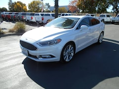 Used cars, trucks, and SUVs 2017 Ford Fusion Platinum Sedan for sale near you in Corning, CA