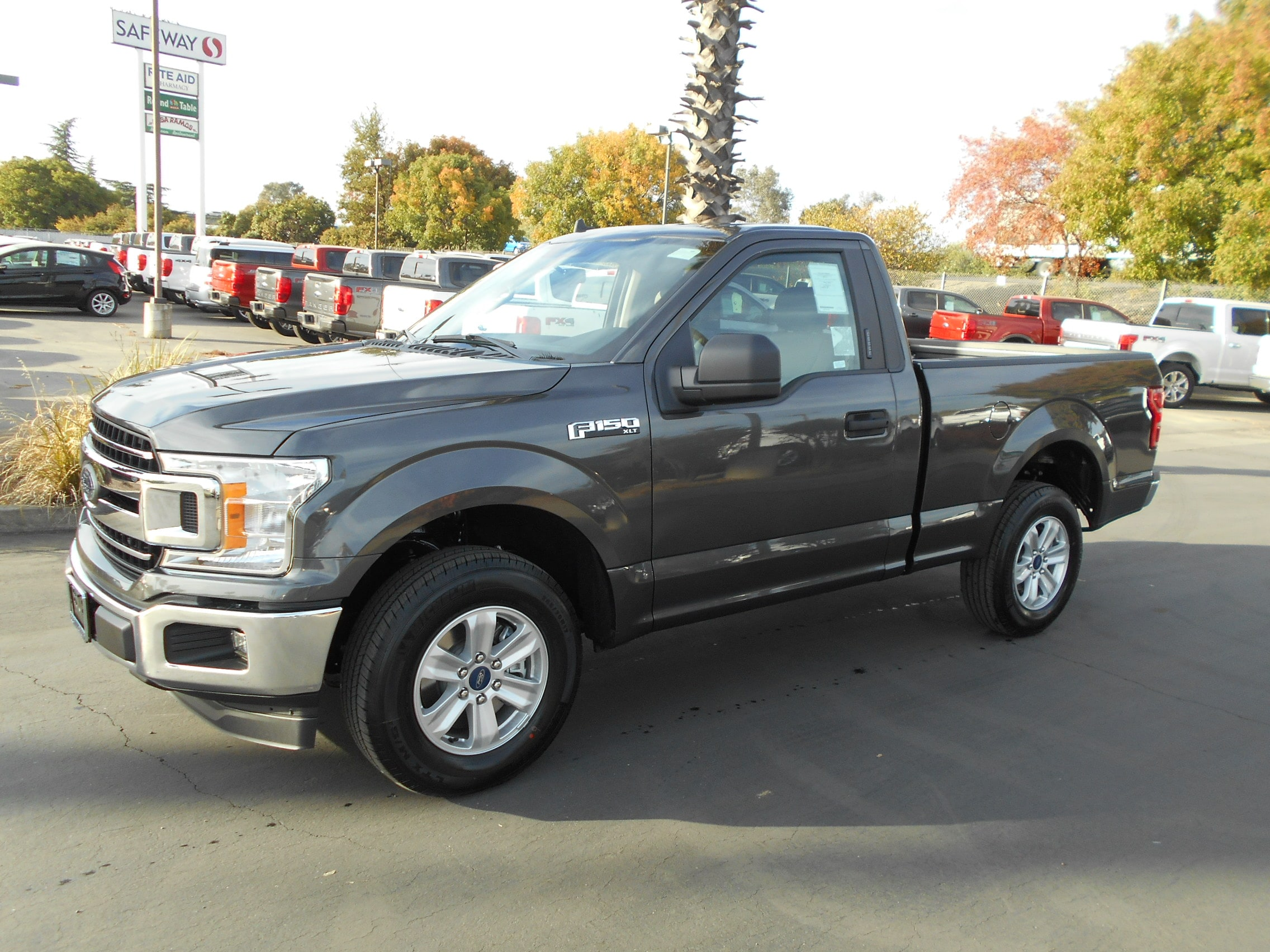 Featured new Ford cars, trucks, and SUVs 2019 Ford F-150 XLT Regular Cab for sale near you in Corning, CA