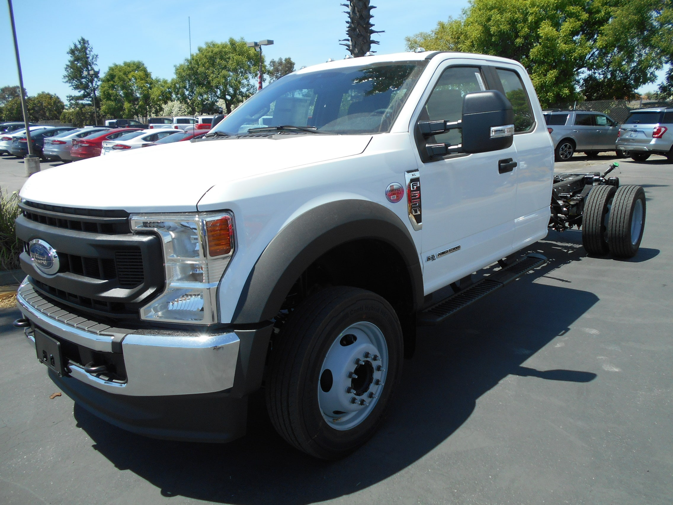 2020 Ford F-550 Chassis Cab and Chassis