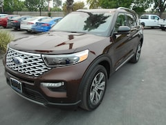 New Ford cars, trucks, and SUVs 2020 Ford Explorer Platinum SUV for sale near you in Corning, CA