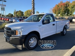 New Ford cars, trucks, and SUVs 2018 Ford F-150 XL Regular Cab for sale near you in Corning, CA