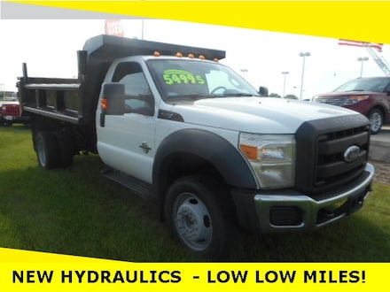 2011 Ford F-550 Chassis Truck Regular Cab