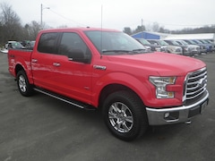 2017 Ford F-150 XLT 4WD Supercrew 5.5 Box Truck SuperCrew Cab