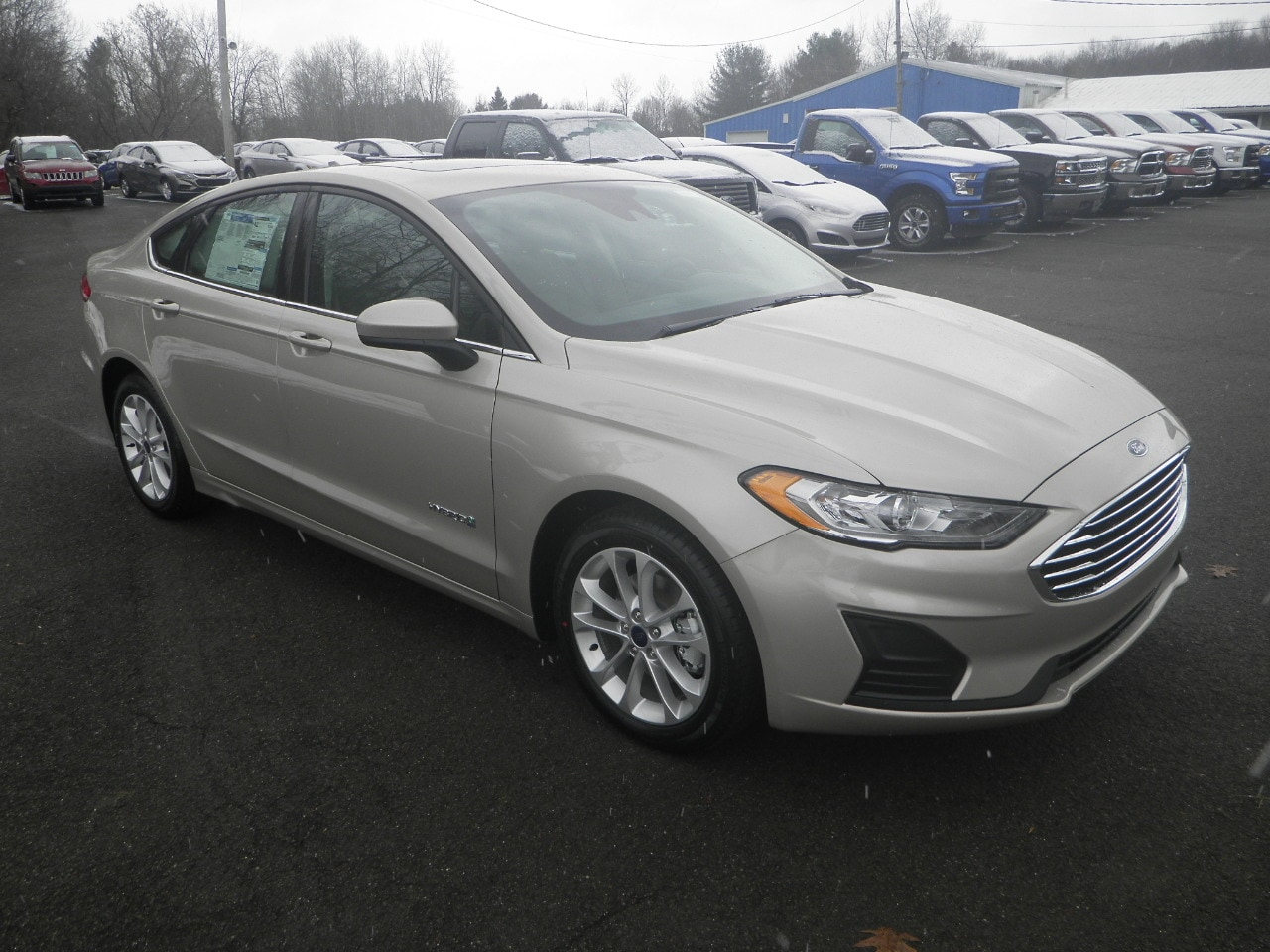 2019 Ford Fusion Hybrid SE Car