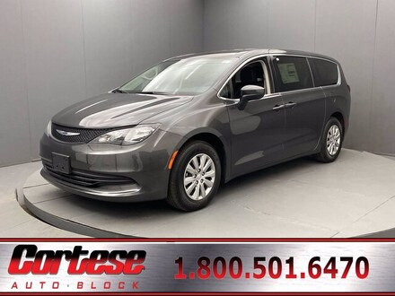 Featured New 2020 Chrysler Voyager L Passenger Van for Sale in Rochester, NY
