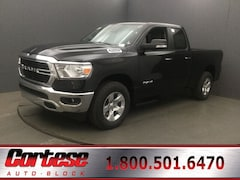 New 2019 Ram 1500 BIG HORN / LONE STAR QUAD CAB 4X4 6'4 BOX Quad Cab 1C6SRFBTXKN922359 for sale in Rochester, NY