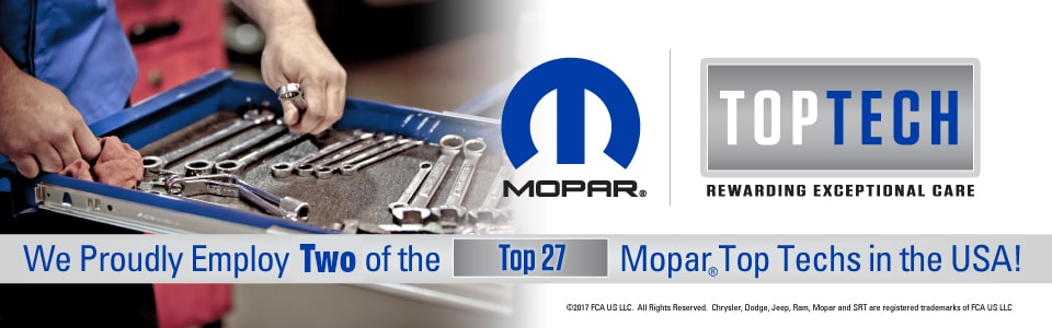 MOPAR Top Tech | Cortese Chrysler Jeep Dodge Ram