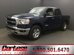 New 2020 Ram 1500 BIG HORN CREW CAB 4X4 5'7 BOX Crew Cab 1C6SRFFT8LN155333 for sale in Rochester, NY