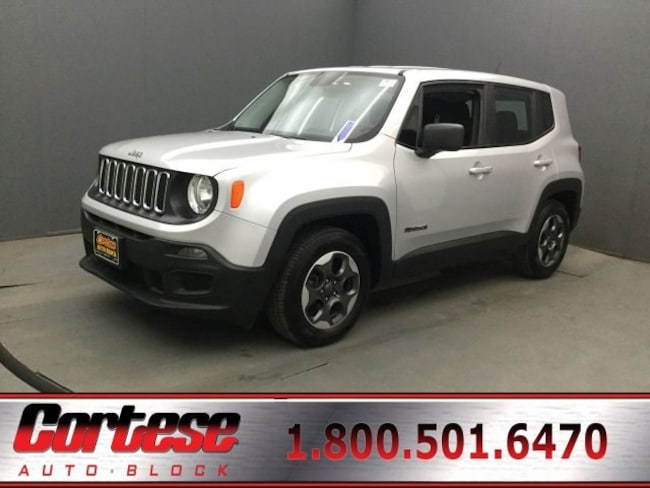 Used 2016 Jeep Renegade Sport SUV In Rochester
