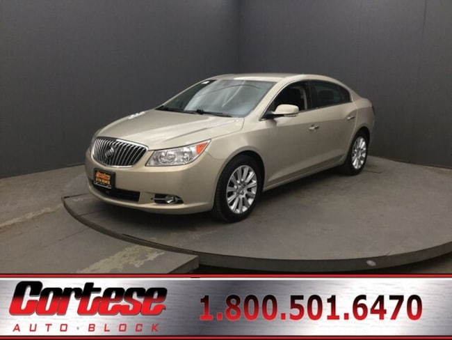 2013 Buick Lacrosse Leather Sedan