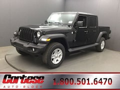 New 2020 Jeep Gladiator SPORT S 4X4 Crew Cab 1C6HJTAG3LL123489 for sale in Rochester, NY