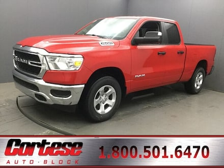 Featured New 2019 Ram All-New 1500 TRADESMAN QUAD CAB 4X4 6'4 BOX Quad Cab for Sale in Rochester, NY