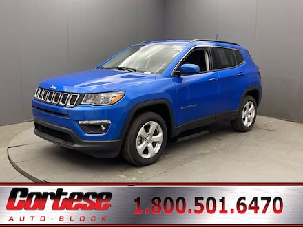 Featured New 2020 Jeep Compass LATITUDE 4X4 Sport Utility for Sale in Rochester, NY