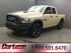 New 2019 Ram 1500 Classic WARLOCK QUAD CAB 4X4 6'4 BOX Quad Cab 1C6RR7GT7KS744862 for sale in Rochester, NY