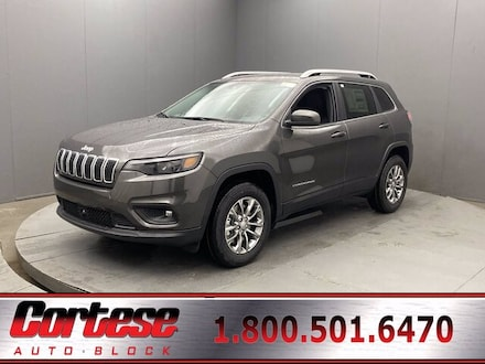 Featured New 2021 Jeep Cherokee LATITUDE PLUS 4X4 Sport Utility for Sale in Rochester, NY