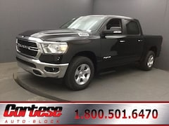 New 2020 Ram 1500 BIG HORN CREW CAB 4X4 5'7 BOX Crew Cab 1C6SRFFT6LN155332 for sale in Rochester, NY