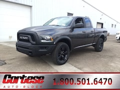 New 2019 Ram 1500 Classic WARLOCK QUAD CAB 4X4 6'4 BOX Quad Cab 1C6RR7GGXKS739366 for sale in Rochester, NY