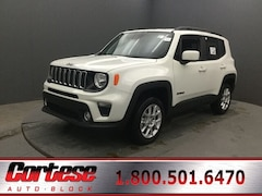New 2020 Jeep Renegade LATITUDE 4X4 Sport Utility ZACNJBBB0LPL33257 for sale in Rochester, NY