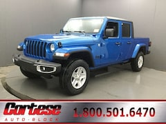 New 2020 Jeep Gladiator SPORT S 4X4 Crew Cab 1C6HJTAGXLL173418 for sale in Rochester, NY