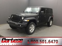 New 2020 Jeep Wrangler UNLIMITED SPORT S 4X4 Sport Utility 1C4HJXDG6LW209275 for sale in Rochester, NY