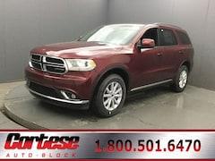 New 2020 Dodge Durango SXT PLUS AWD Sport Utility 1C4RDJAG4LC229989 for sale in Rochester, NY