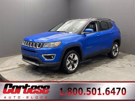 Featured New 2021 Jeep Compass LIMITED 4X4 Sport Utility for Sale in Rochester, NY