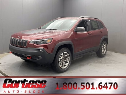Featured New 2021 Jeep Cherokee TRAILHAWK 4X4 Sport Utility for Sale in Rochester, NY