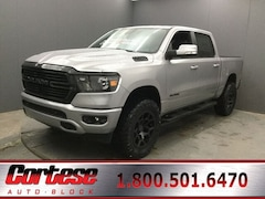 New 2020 Ram 1500 BIG HORN CREW CAB 4X4 5'7 BOX Crew Cab 1C6SRFFT8LN135003 for sale in Rochester, NY