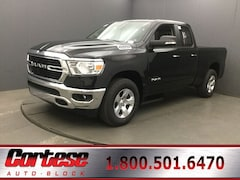 New 2019 Ram 1500 BIG HORN / LONE STAR QUAD CAB 4X4 6'4 BOX Quad Cab 1C6SRFBTXKN922409 for sale in Rochester, NY