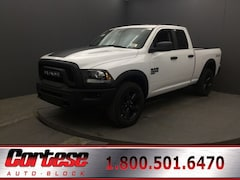 New 2020 Ram 1500 Classic WARLOCK QUAD CAB 4X4 6'4 BOX Quad Cab 1C6RR7GG1LS130426 for sale in Rochester, NY