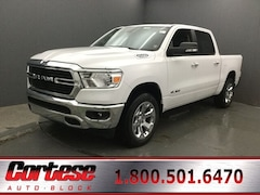 New 2020 Ram 1500 BIG HORN CREW CAB 4X4 5'7 BOX Crew Cab 1C6SRFFTXLN216102 for sale in Rochester, NY