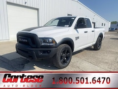 New 2020 Ram 1500 Classic WARLOCK QUAD CAB 4X4 6'4 BOX Quad Cab 1C6RR7GG6LS142023 for sale in Rochester, NY