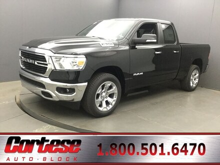 Featured New 2019 Ram All-New 1500 BIG HORN / LONE STAR QUAD CAB 4X4 6'4 BOX Quad Cab for Sale in Rochester, NY