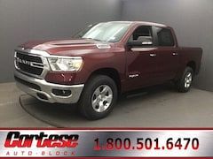 New 2020 Ram 1500 BIG HORN CREW CAB 4X4 5'7 BOX Crew Cab 1C6SRFFT4LN155331 for sale in Rochester, NY