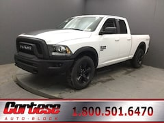 New 2019 Ram 1500 Classic WARLOCK QUAD CAB 4X4 6'4 BOX Quad Cab 1C6RR7GG5KS744667 for sale in Rochester, NY