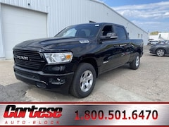 New 2021 Ram 1500 BIG HORN CREW CAB 4X4 6'4 BOX Crew Cab 1C6SRFMT1MN538101 for sale in Rochester, NY