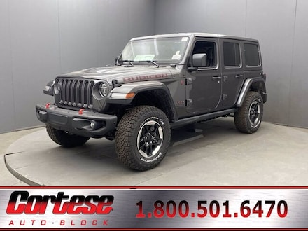 Featured New 2020 Jeep Wrangler UNLIMITED RUBICON 4X4 Sport Utility for Sale in Rochester, NY