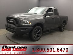 New 2019 Ram 1500 Classic WARLOCK QUAD CAB 4X4 6'4 BOX Quad Cab 1C6RR7GG1KS739367 for sale in Rochester, NY