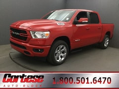 New 2020 Ram 1500 BIG HORN CREW CAB 4X4 5'7 BOX Crew Cab 1C6SRFFT6LN165469 for sale in Rochester, NY