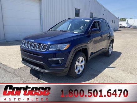 Featured New 2021 Jeep Compass LATITUDE 4X4 Sport Utility for Sale in Rochester, NY