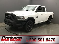 New 2019 Ram 1500 Classic WARLOCK QUAD CAB 4X4 6'4 BOX Quad Cab 1C6RR7GG4KS739363 for sale in Rochester, NY