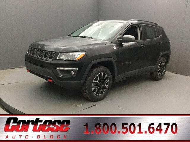 Featured New 2019 Jeep Compass TRAILHAWK 4X4 Sport Utility for Sale in Rochester, NY