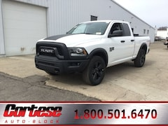 New 2020 Ram 1500 Classic WARLOCK QUAD CAB 4X4 6'4 BOX Quad Cab 1C6RR7GG8LS126728 for sale in Rochester, NY