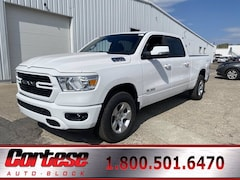 New 2021 Ram 1500 BIG HORN CREW CAB 4X4 6'4 BOX Crew Cab 1C6SRFMTXMN538100 for sale in Rochester, NY