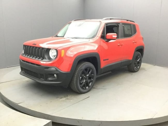 New 2017 Jeep Renegade ALTITUDE 4X4 Sport Utility In Rochester