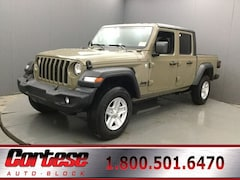 New 2020 Jeep Gladiator SPORT S 4X4 Crew Cab 1C6HJTAG8LL173417 for sale in Rochester, NY