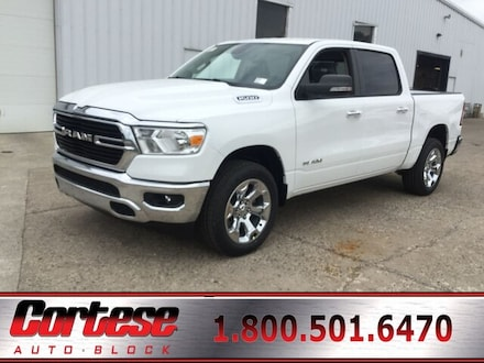 Featured New 2019 Ram All-New 1500 BIG HORN / LONE STAR CREW CAB 4X4 5'7 BOX Crew Cab for Sale in Rochester, NY