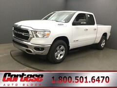 New 2019 Ram 1500 BIG HORN / LONE STAR QUAD CAB 4X4 6'4 BOX Quad Cab 1C6SRFBT2KN922341 for sale in Rochester, NY