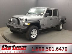 New 2020 Jeep Gladiator SPORT S 4X4 Crew Cab 1C6HJTAG4LL156551 for sale in Rochester, NY