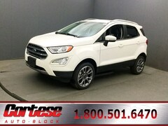 New 2019 Ford EcoSport Titanium Crossover for sale in Rochester at Cortese Ford